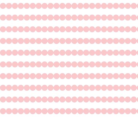 polkadot_stripes-blush fabric by dani_apple on Spoonflower - custom fabric