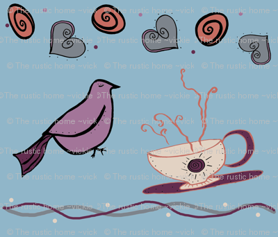 Early Riser birds and coffee cups main
