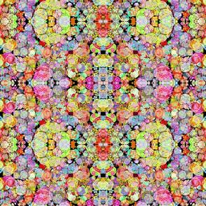 Mirrored Floral Batik