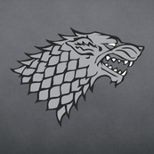 Grey Dire Wolf