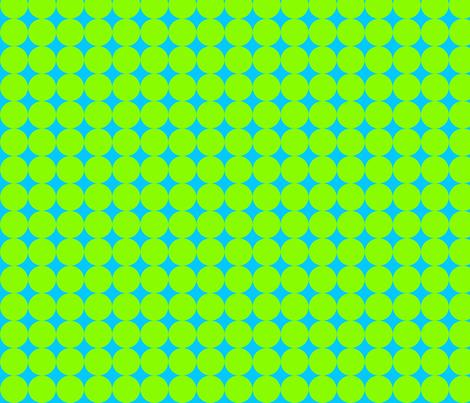 Op Art Circles Turq/Green fabric by ileneavery on Spoonflower - custom fabric
