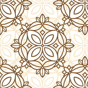 beige ornament