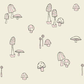 Forest Mushrooms Candyfloss
