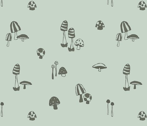 Forest_mushrooms_spearmint_shop_preview