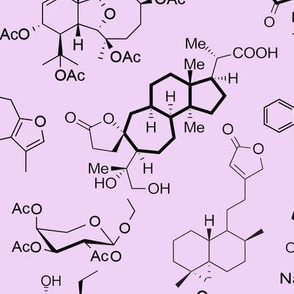 Molecules - Pink - Large