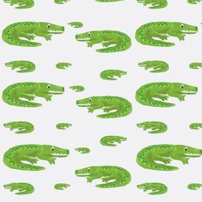 Croc white
