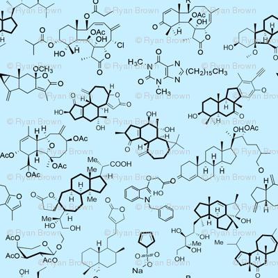Molecules // Blue // Large