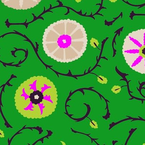 suzani_verde