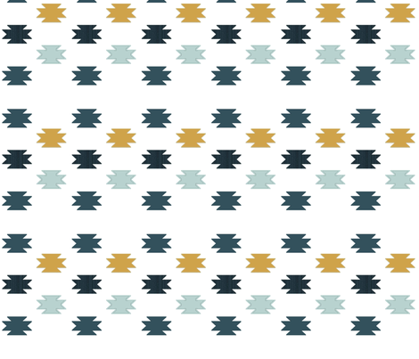 Aztec Pops fabric by sproutz on Spoonflower - custom fabric