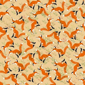 Camouflaged Foxes Rust