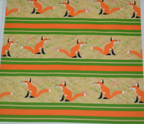 Fox Stripe Orange