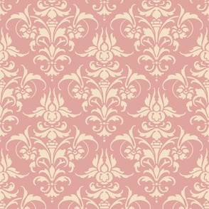 The Joan Damask ~ Alabaster on Georgina
