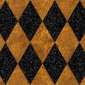 Rharlequin_diamonds___black_and_gold_mosaic___peacoquette_designs___copyright_2016_shop_thumb
