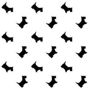 Black Scottie Dogs