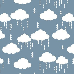 cloud clouds raincloud clouds rain raining blue kids nursery baby