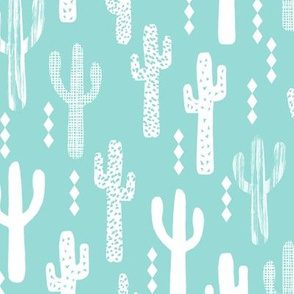 cactus bright mint southwest desert cacti