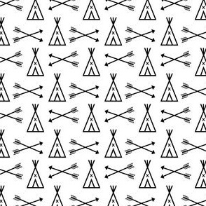 tipi black and white southwest kids small tiny nursery baby