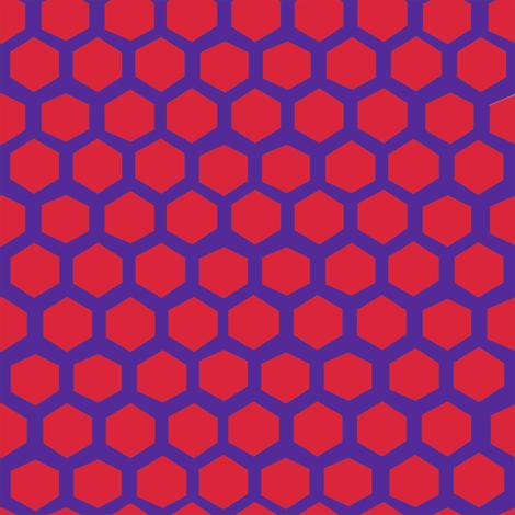 hex honey bear's sheet fabric by kheckart on Spoonflower - custom fabric