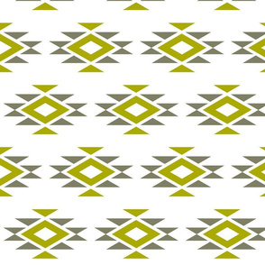 Mod Gold N Gray Aztec