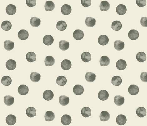 Watercolour Dots Earth fabric by phirefly_print on Spoonflower - custom fabric