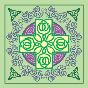 Ornate Celtic Cross - Large Format