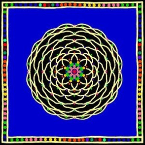 DottedFlower: CheaterQuiltSquare #1