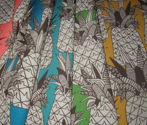pineapple palm green
