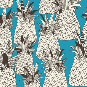 pineapple summer blue
