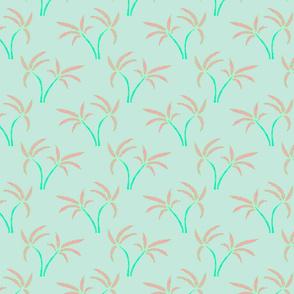 Twin Palms in Mint