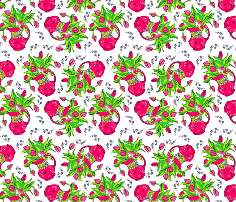 Springtime fabric by moirarae on Spoonflower - custom fabric