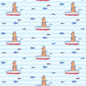 Salty Sailor cat