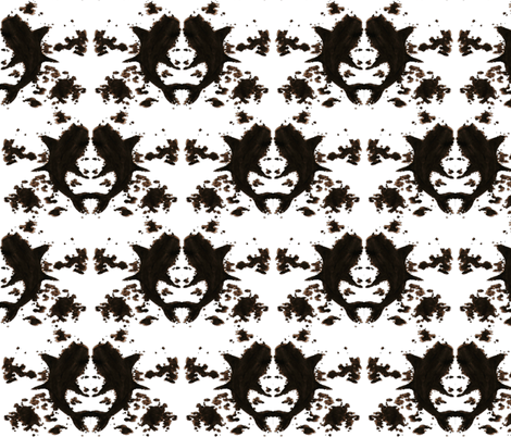 Rorshark fabric by interrobangart on Spoonflower - custom fabric