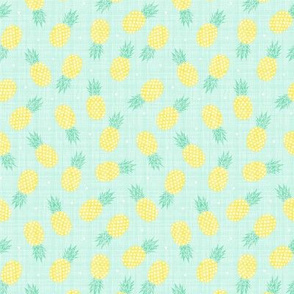 Pineapples - Texture - Mini