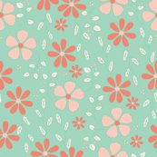 Rgrey_floral_-_mint_coral_shop_thumb