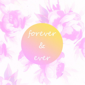Pillow - Forever Watercolor Floral