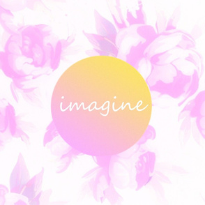 Pillow - Imagine Watercolor Floral