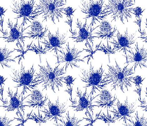 Thistle  fabric by ellas_place on Spoonflower - custom fabric