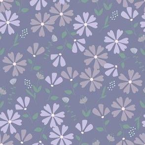 Francesca Floral - violet