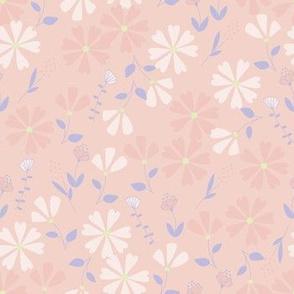 Francesca Floral - pinks