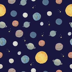 Planets - dark