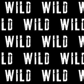 WILD // black