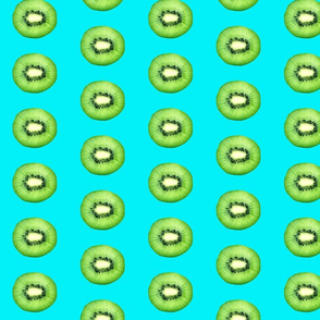Kiwi on Aqua
