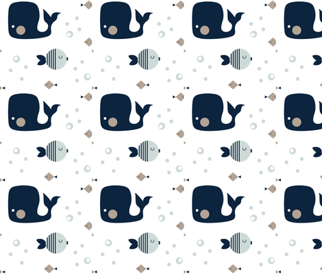 Moby fabric by plum_studio on Spoonflower - custom fabric