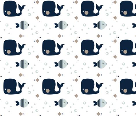 Moby fabric by plum_studio on Spoonflower - custom fabric