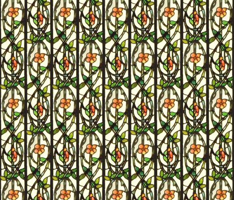 Glass Roses fabric by amyvail on Spoonflower - custom fabric