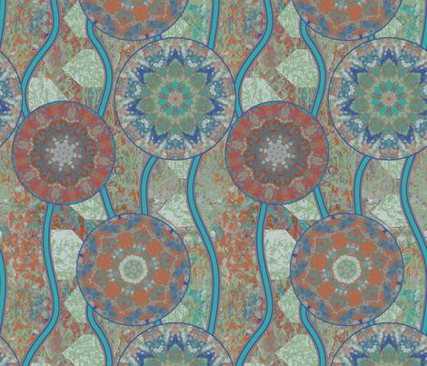 Spectrolite River Flow fabric by bloomingwyldeiris on Spoonflower - custom fabric