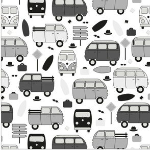 Roadtrip in Gray