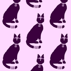 Block Print - Regal Cat