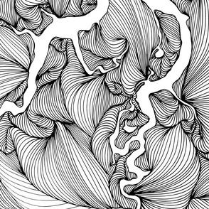 Mirrored Line Art