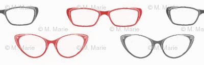 Glasses (Black and Red variant)